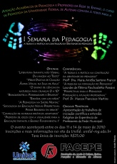 I Semana da Pedagogia - Universidade Federal de Alfenas (2010)