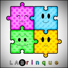 Logo da LABrinque - Brinquedoteca da Unifal-MG - (2010)
