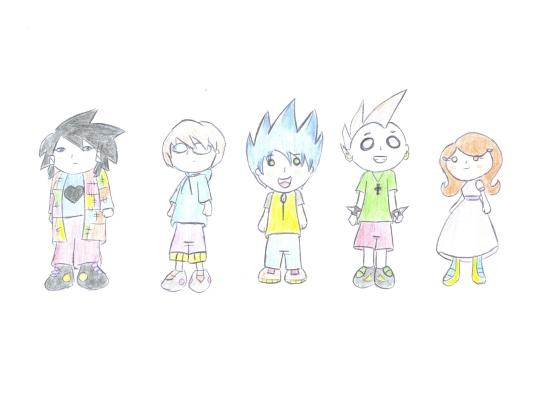 Riso Contido - Personagens (2005)
