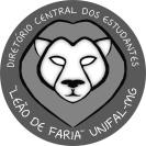 """Logo do Diretório Central dos Estudantes """"Leão de Faria"""" Unifal-MG (2008)"""